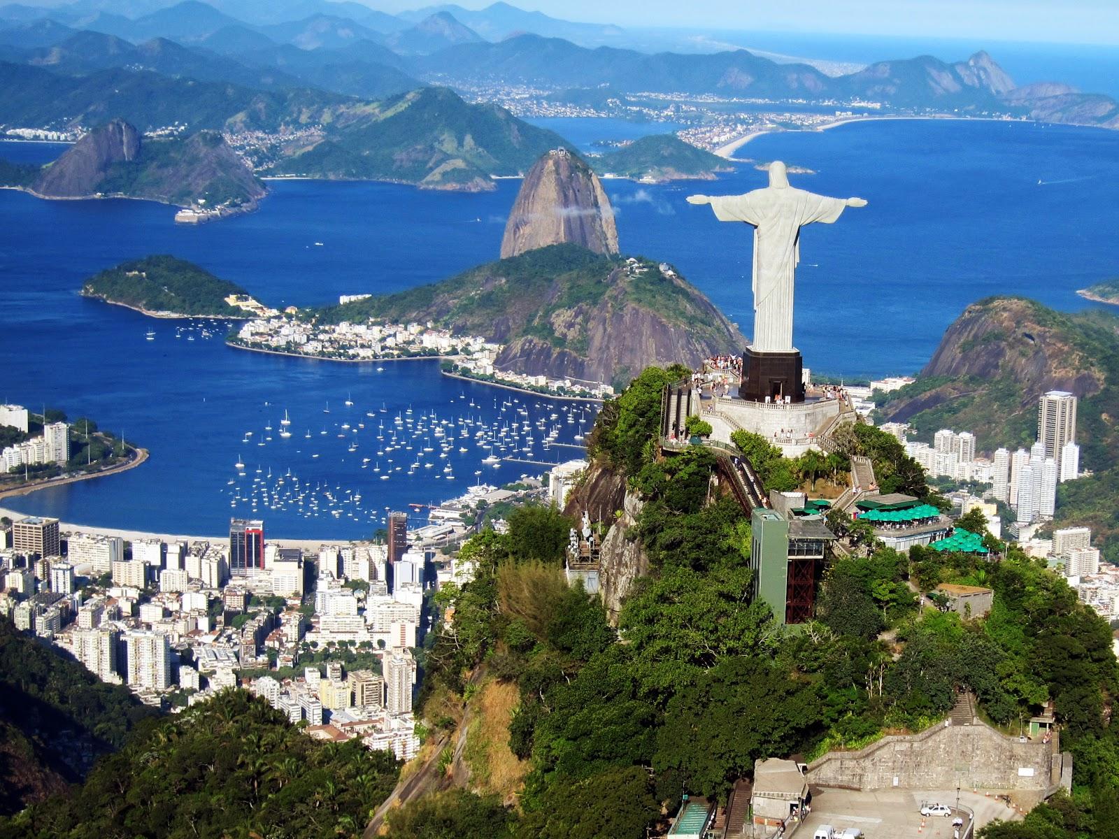 Imagem Panorâmica da Cidade do Rio de Janeiro