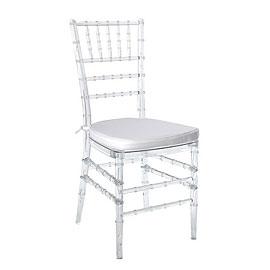 Cadeira Tiffany Cristal Almofada