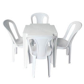 Mesa Plastica Quadrada